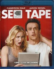 SEX TAPE NEW BLU RAY DISC MOVIE FILM COMEDY CAMERON DIAZ JASON SEGEL JACK BLACK