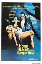 Satánicas Ritos De Dracula Cartel 02 A2 Caja Lona Impresión