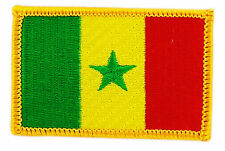 FLAG PATCH PATCHES SENEGAL IRON ON COUNTRY EMBROIDERED WORLD FLAG