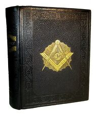 1902 Antique FREEMASONRY MASONIC ILLUSTRATED HISTORY KNIGHTS TEMPLAR OCCULT BOOK