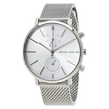 Michael Kors Jaryn Silver Dial Mens Stainless Steel Mesh Watch MK8541