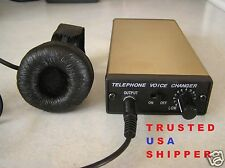 PORTABLE TELEPHONE DIGITAL VOICE CHANGER.  PRO-16 GOLD VERSION. SHIPPED FROM USA