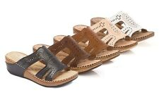 NEW Lady Godiva Women's Arch-Support Sandals - Beige - Size: 9