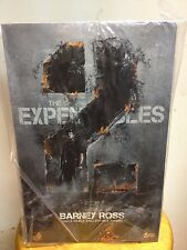 Hot Toys MMS 194 The Expendables 2 Barney Ross Sylvester Stallone Figure NEW
