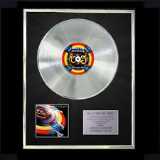 E.L.O. ELECTRIC LIGHT OUT OF THE BLUE  CD PLATINUM DISC VINYL LP FREE POST UK