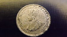 SIXPENCE 1919 ERROR BLISTERED GENUINE COIN IN GOOD GRADE