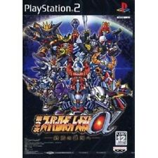PS2 Super Robot Wars Taisen Alpha 3 Japan Gundam