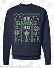 Seattle Seahawks 'Ugly Christmas Sweater' Navy Sweatshirt