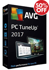 AVG PC Tuneup Pro 2017 Digital Download + Install on 3 pcs/laptop for 1 year