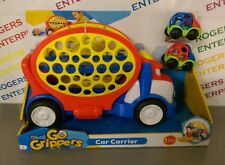 Oball Go Grippers Car Carrier with 2 Cars Boys Toy Playset 18m+ - NEW Box torn