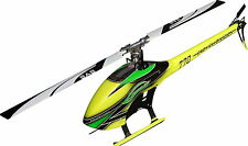 Sab SG772 GOBLIN 770 Competition Flybarless Helicopter YL/GR Kit w/ Blades