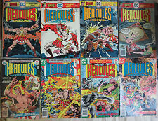 Hercules Unbound (DC 1975) #1-11 Lot of 8 Diff Gerry Conway + Jose Garcia Lopez