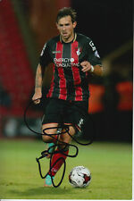 BOURNEMOUTH HAND SIGNED CHARLIE DANIELS 6X4 PHOTO 3.