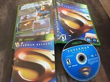 Superman Returns: The Video Game (Microsoft Xbox, 2006) Used Free US Shipping