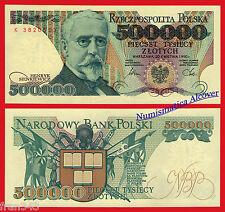 POLONIA POLAND 500000 Zlotych 1990 Pick 156  SC /  UNC