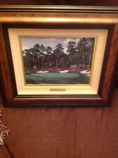 Just Across Rae's Creek Limited Edition By Larry Dyke the masters golf