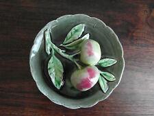 2)- BARBOTINE  assiette aux pommes  début XXè  LONGCHAMP ?