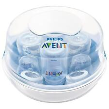 Philips Avent Microwave Steam Bottle Steriliser for Baby Bottles/Breast Pump