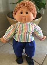 VINTAGE BB MADE IN SPAIN BOY DOLL ORIGINAL CLOTHING CHUBBY CHEEKS RARE 19""