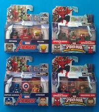 Marvel Minimates Walgreens Wave 3 Set Captain America Ant Man Spiderman Noir