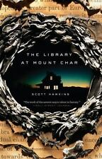 The Library at Mount Char Hawkins, Scott Books-Good Condition