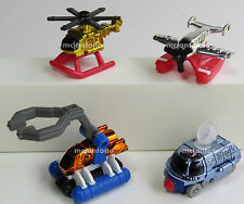 LOOSE McDonald's Happy Meal 1997 MICRO MACHINES Complete Set 4 GALOOB