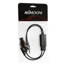 3.5mm Car Audio USB AUX In Cable Adapter For BMW MINI Cooper iPhone 5 5S 5C Y5H3