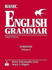 Basic English Grammar Workbook a with Answer Key by Betty Schrampfer Azar...