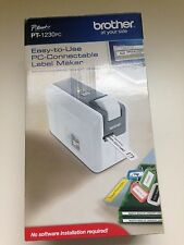 Brother P-Touch PT-1230PC Label Thermal Printer Label make