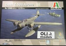 1/72 CANT Z.506 AIRONE Floatplane - Upgraded Moulds w/PE parts - Italeri 1360