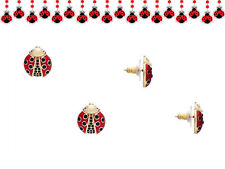 Kate Spade Ladybug Earrings NWT Inspired by Glories of the Garden