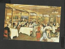 Nostalgia Postcard Lunchtime The Grill Room Hyde Park Hotel