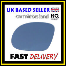 Left Passenger Wing Car Mirror Glass BLUE VAUXHALL CORSA C SRI 2001-2006 HAGUS