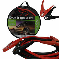 400 AMP CAR JUMP LEADS BATTERY JUMPER BOOSTER CABLES VAN VEHICLE 25mm² 4M 12FT
