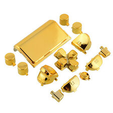 Fashion Buttons Mod Chrome Gold For Sony Playstation 4 PS4 Controller Joystick