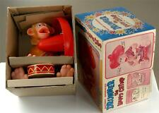 Vintage Japanese battery Drumming Chimp Toy, Mint,NOS,Not Working,See Descript.