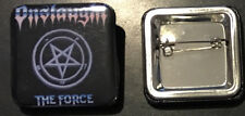 ONSLAUGHT pin button Thrash metal black death Celtic Frost Sodom The Force speed