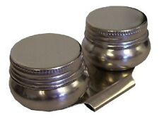Stainless Steel Large Mouth Double Palette Cup with Lids
