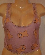 Wildfox Couture TEDDY BEAR  TOP Pink   Sz M  NWB