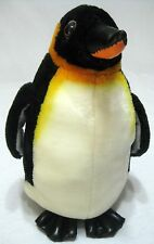 Realistic Emperor Penguin Plush Stuffed Animal
