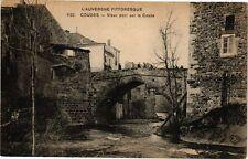CPA  L'Auvergne Pittoresque - Coudes - Vieux pont sur la Couza (221494)