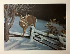 "Jerry Gadamus ""December Twilight"" SN  LE Print 23""x17.5"""