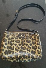 KATE SPADE Animal cross body bag purse, - leopard  print, excellent condition