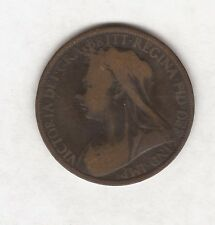 1899 QUEEN VICTORIA ONE PENNY COIN #B