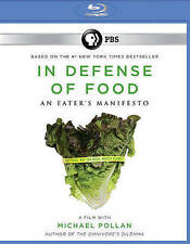 In Defense Of Food Blu-ray. New Sealed. Free Shipping.