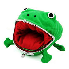 Cool Personality Naruto Frog Wallet Green Coin Purse Wallet