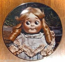 VINTAGE 1981 COLLECTOR PLATE *DEAR GOOGLY* OLD GERMAN DOLLS - MILDRED SEELEY