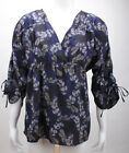 Vero Moda Bluse Last 3/4 Top Mix Vol Midnight Blue/Comb