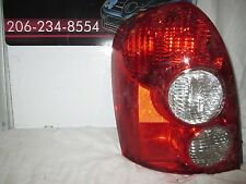 2005-2006 MAZDA TRIBUTE DRIVERS/LEFT SIDE TAILLIGHT OEM