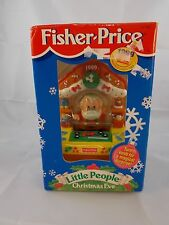 Fisher Price Little People Christmas Eve Ornament Toy
